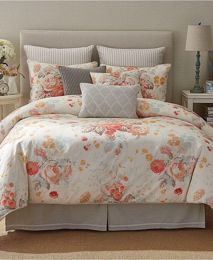 sanderson stapleton park 18 square decorative pillow gray rh pinterest com