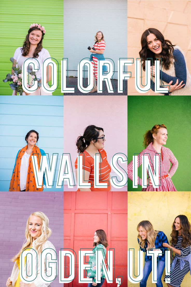 Guide to colorful walls in Northern Utah // Colored Walls in Northern Utah - Amy Hirschi Creative