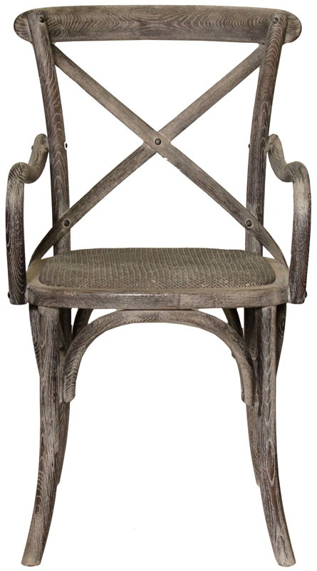 Weathered Oak X Back Chair Furnishings Pinterest