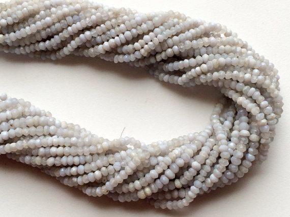 WHOLESALE 5 Strands Blue Lace Agate Lace Agate by gemsforjewels