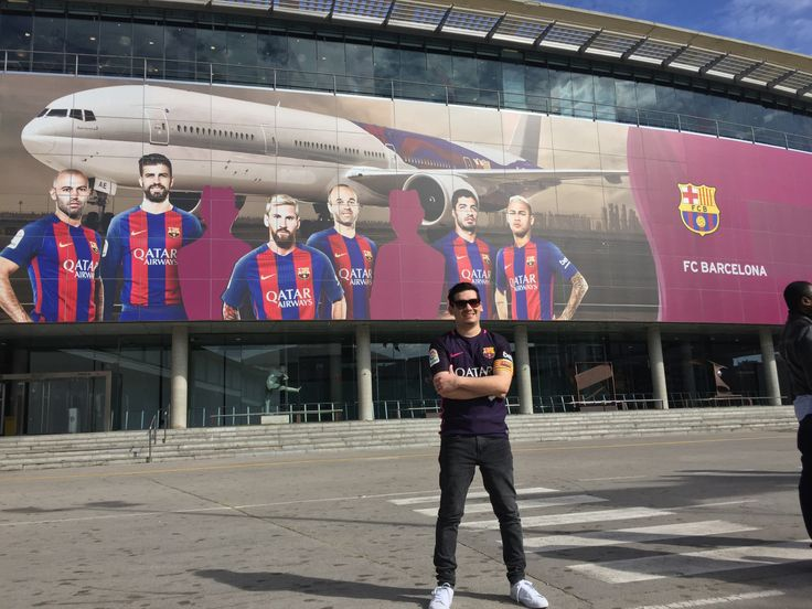Camp Nou! Barcelona www.weareinfinite.blog #Barcelona #Campnou #Messi #Travel #España #Europa #LaLiga #Viajes #blog