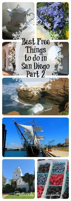 Best Free Things to Do in San Diego, Part II - Postcards & Passports
