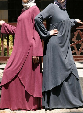 Kanza Dress--wearable with a long khimar/hijab..<3