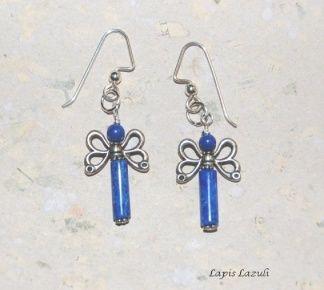 Örhängen med Lapis Lazuli | SmyckeStenar