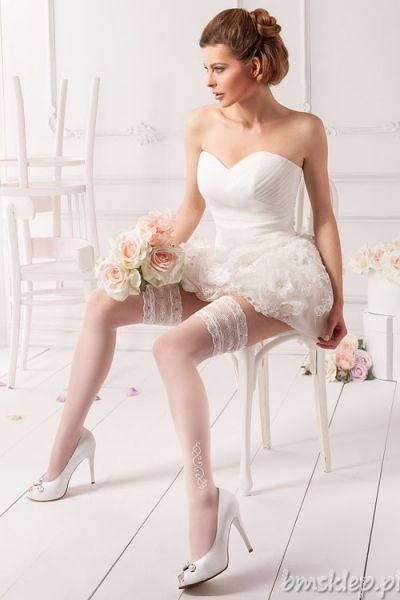 Eleganckie i komfortowe #pończochy z koronką Elegant and comfortable #stockings with #lace top