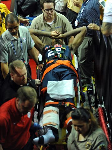 Paul George injury ends USA basketball scrimmage - USA TODAY #PaulGeorge, #Injury, #Basketball