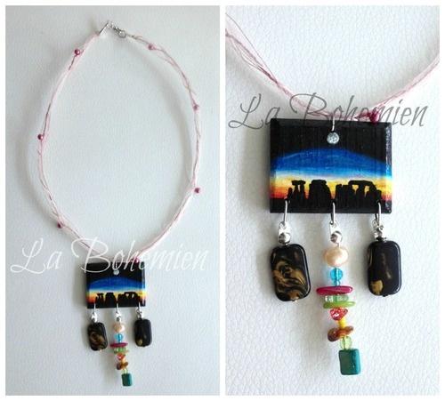 Necklace - Stonehenge