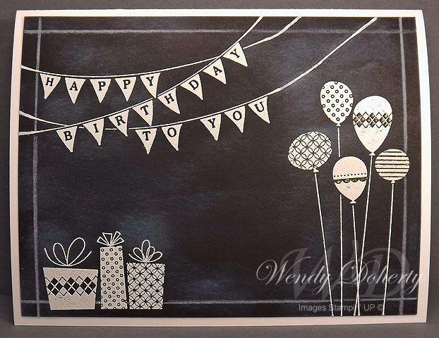 Geburtstag: Girlande, Wimpelkette, Luftballon, Geschenke