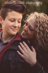 Kelsey + Nell Lesbian Engagement LGBT Engagement Minneapolis, MN Samantha Fronek Photography