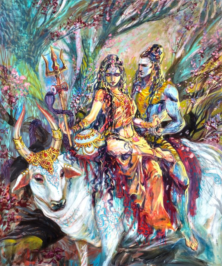 Shiva Through the Brush of Abhishek Singh   SolPurpose