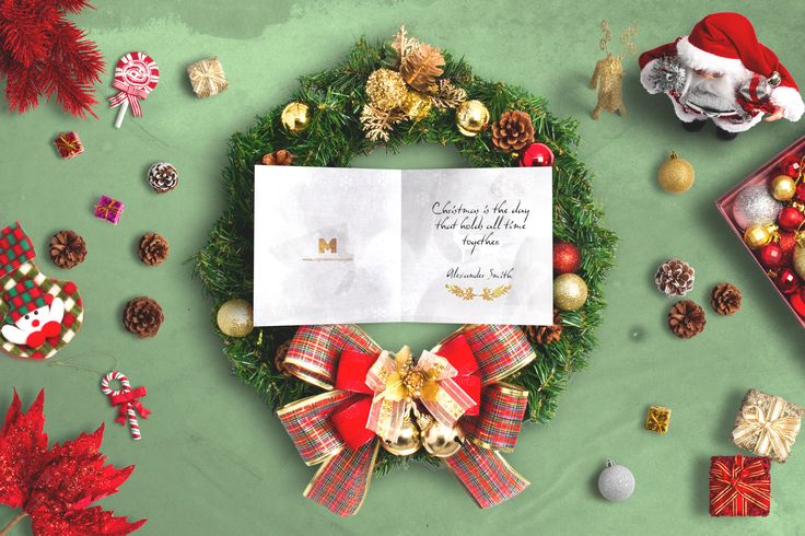 Christmas Header And Hero Scene Mockup 01 by Original Mockups on @originalmockups