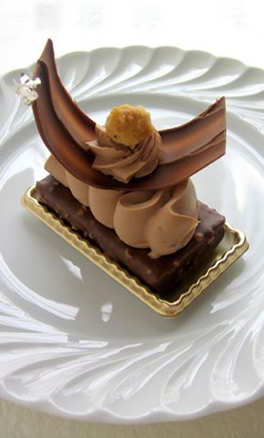 """""""Millefeuille Jivara"""" Gregory Collet French Pastries in Japan"""