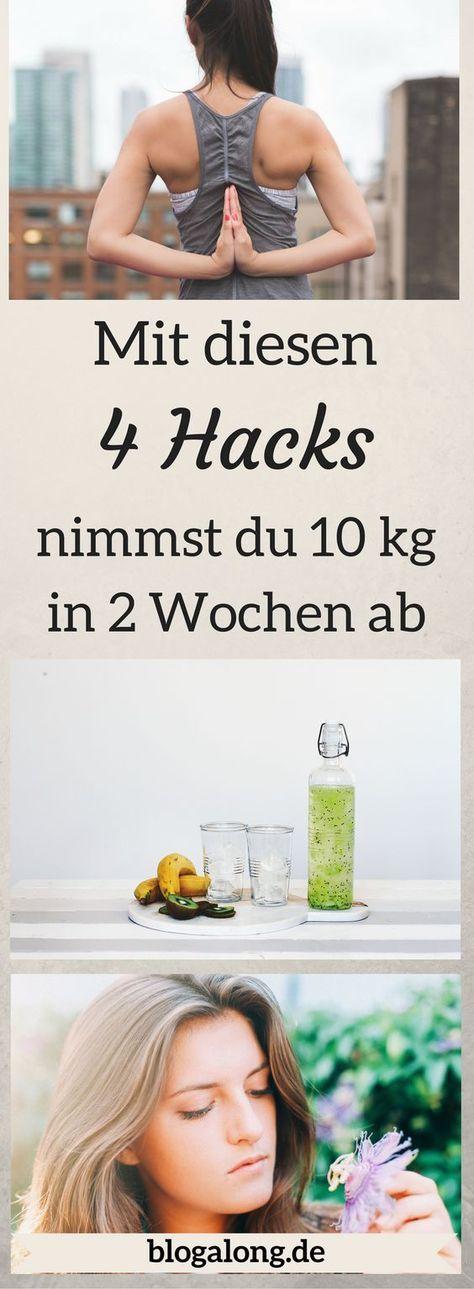 Mit diesen 4 Hacks nimmst du in 2 Wochen bis zu 10 kg ab
