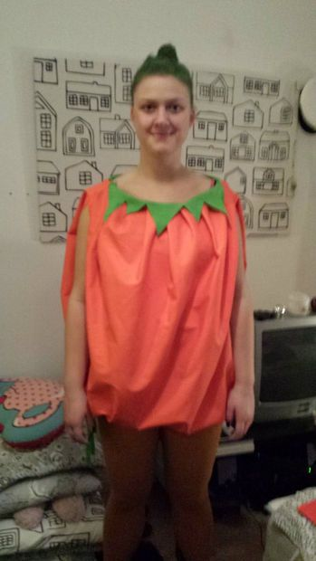 Picture of Easy Pumpkin Costume for Adults