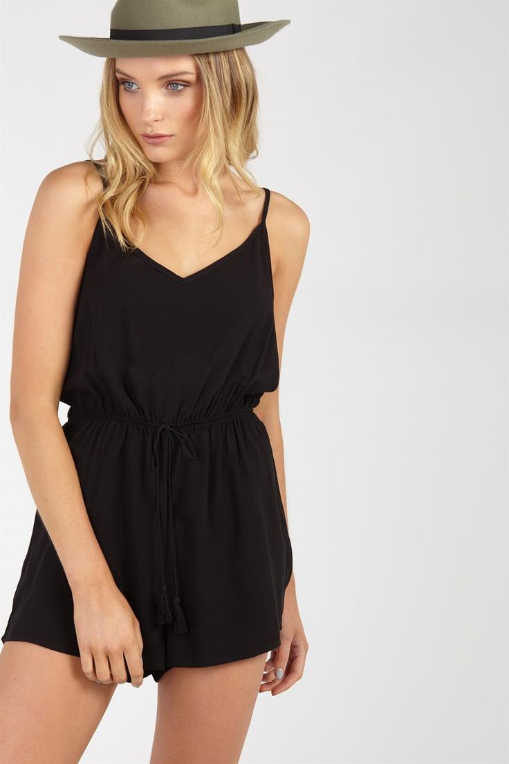 Elsa Strappy Playsuit Supre