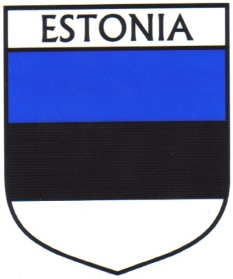 ESTONIA Flag Country ESTONIA Flag Sticker