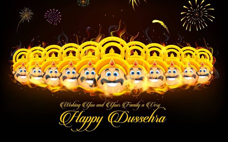 Wishing You And Your Family A Very Happy Dussehra 2016 Wallpaper