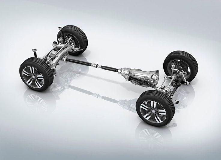 фото трансмиссия 4Matic от Mercedes-Benz