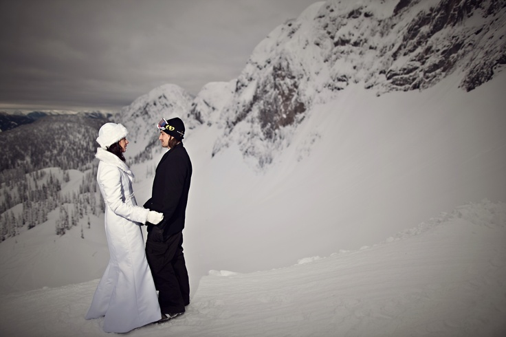 Mountain Dream Wedding at Fernie Alpine Resort - Photo by 68photography.ca