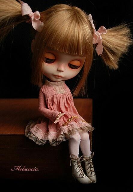 Human Hair Custom Blythe Doll ~ by Melacacia ~ OOAK