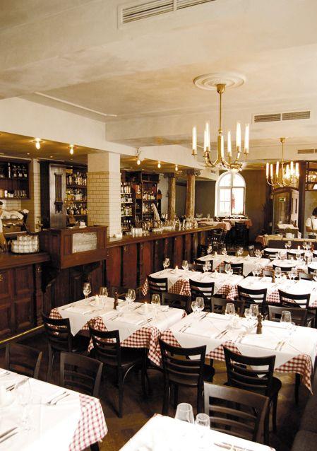 Chez Fritz Restaurant - Französische Brasserie - Restaurant with French Kitchen Brasserie #munich