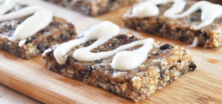 Raw Superfood Breakfast Bars