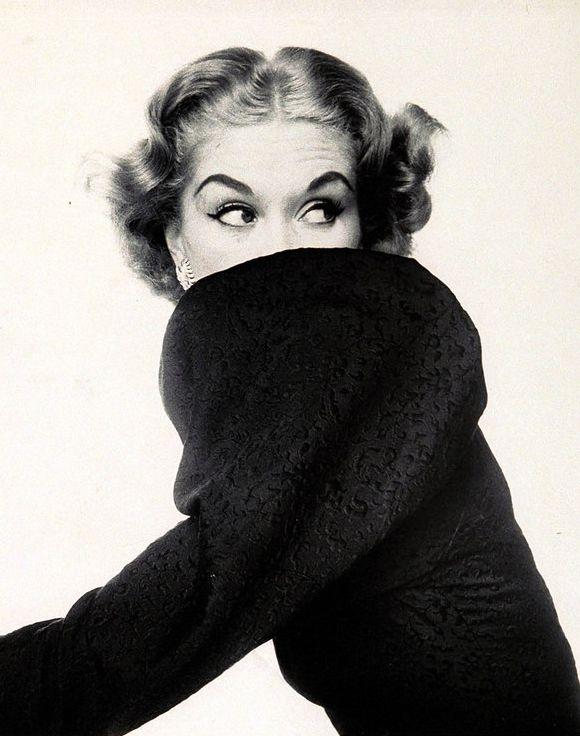 Lisa Fonssagrives by Irving Penn for Vogue US September 1951