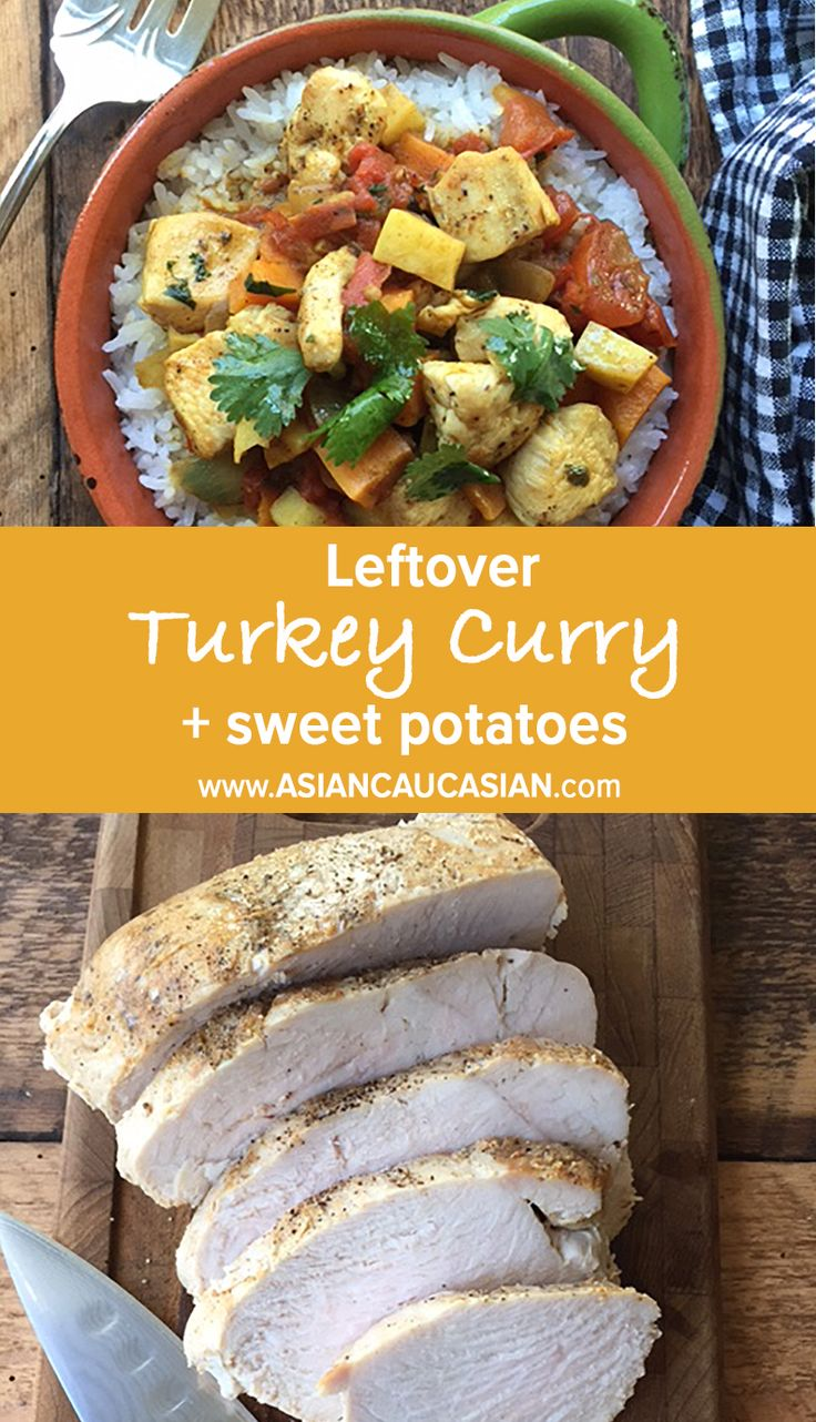 Thanksgiving Turkey Curry with Sweet Potatoes