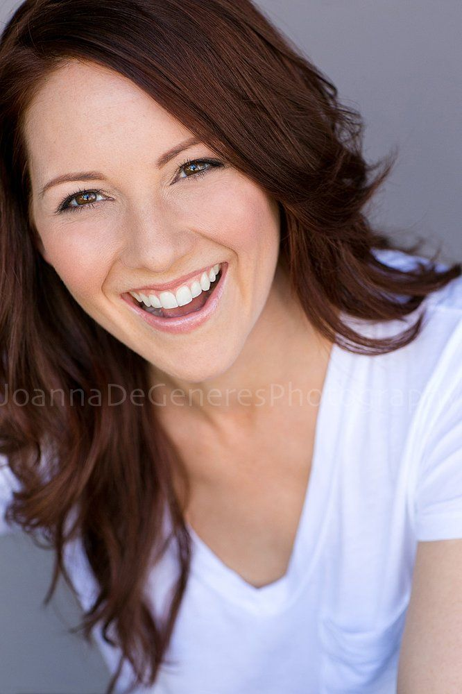 Realize this is the most like a traditional headshot. But there still something very natural about her smile and eyes that I like.