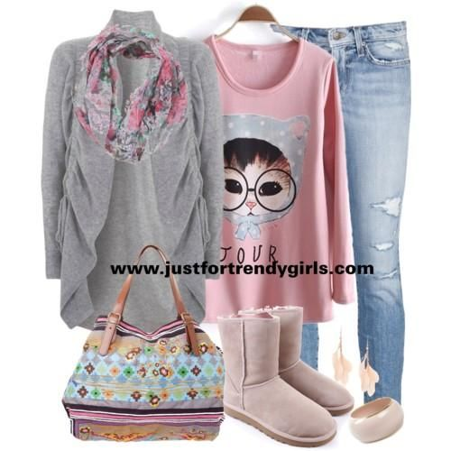 Winter Outfits for Teenage Girls | Casual teens outfits in winter