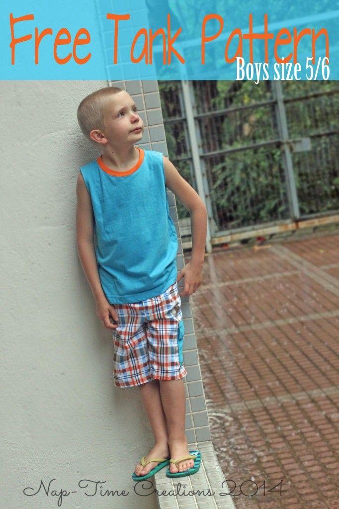 94 best Jungen Shirts, Oberteile & Co - Freebooks Jungen images on ...