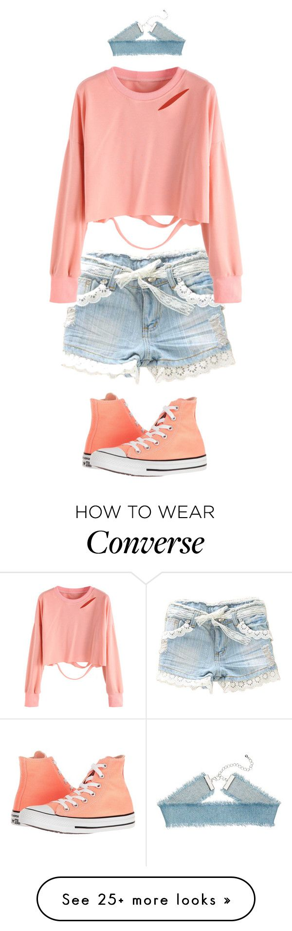 """""""Unbenannt #387"""" by kitty-lm on Polyvore featuring Converse"""