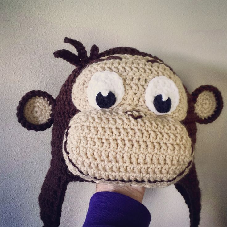 Lovebugs and Monkeys: Crochet Curious George Hat *Free Pattern*