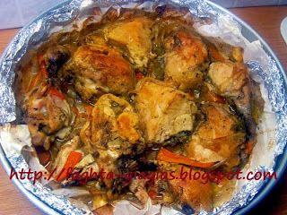 Κοτόπουλο γιούλμπασι ζουμερό και μαλακό - Τα φαγητά της γιαγιάς