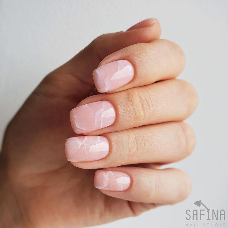 """Safina Elvira on Instagram: """"Прекрасный розовый кварц💕 Наши начинающие мастера уже могут украсить им ваши ручки😉 #AmalNailWorks#nofilter…"""""""