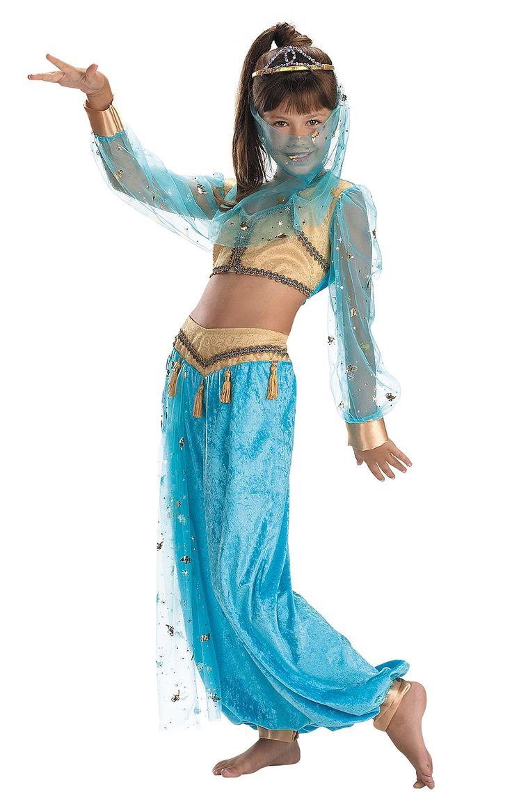 Mystical Genie Child Costume Kids Costumes Girl's Costumes