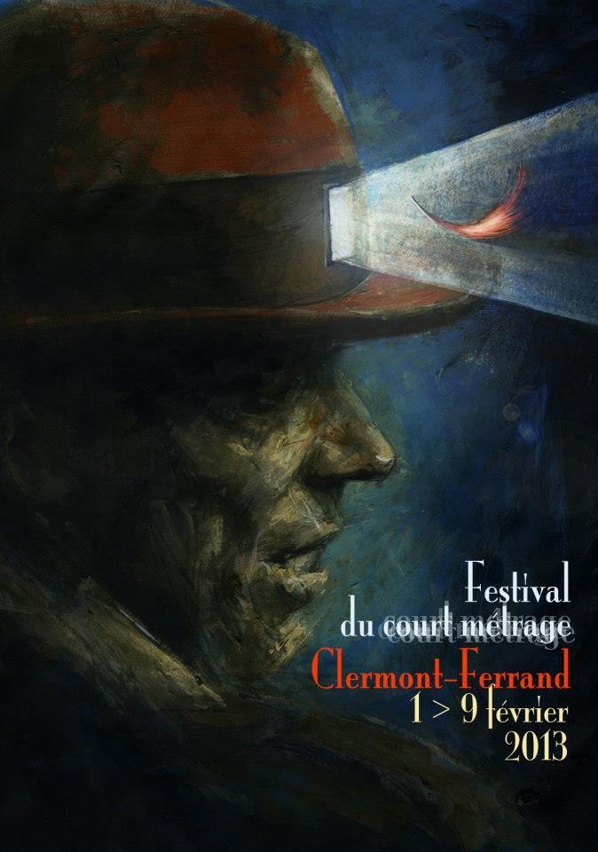 2013 Clermont-Ferrand Short Film Festival  Poster design by Theodore Ushev