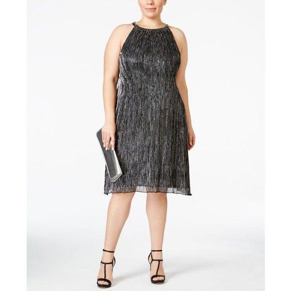 25+ ide terbaik tentang silver plus size dresses di pinterest