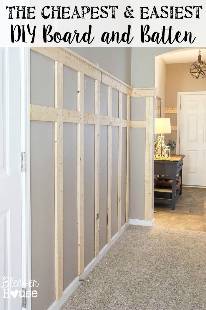 Use these simple tips to take the guess work out of building board and batten and for cheap!