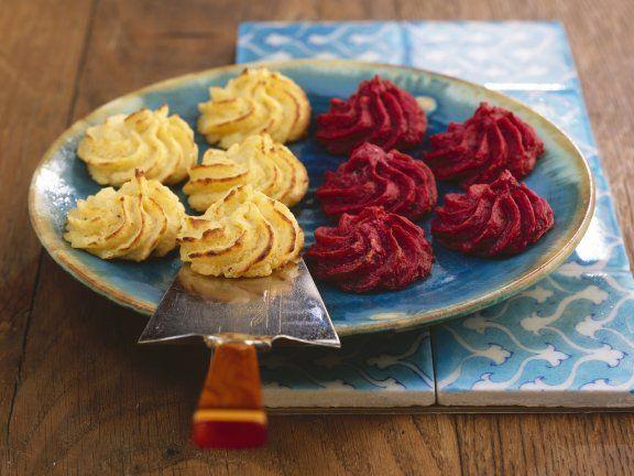 die besten 25 herzoginkartoffeln ideen auf pinterest rezepte mit kartoffeln gebackene. Black Bedroom Furniture Sets. Home Design Ideas