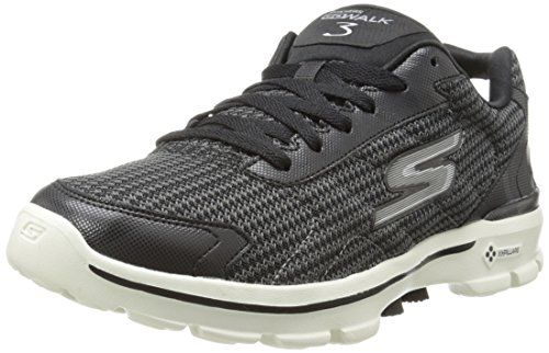 Skechers Mens GOwalk 3 FitKnit Fitness Shoes, Black (Black/White), 9 UK (43.5 EU) These trainers from Skechers provide innovative comfort, designed with performance technology. The Goga mat lining and Gogapillars offer high-rebound cushioning, whil (Barcode EAN = 0888222678593) http://www.comparestoreprices.co.uk/december-2016-6/skechers-mens-gowalk-3-fitknit-fitness-shoes-black-black-white--9-uk-43-5-eu-.asp