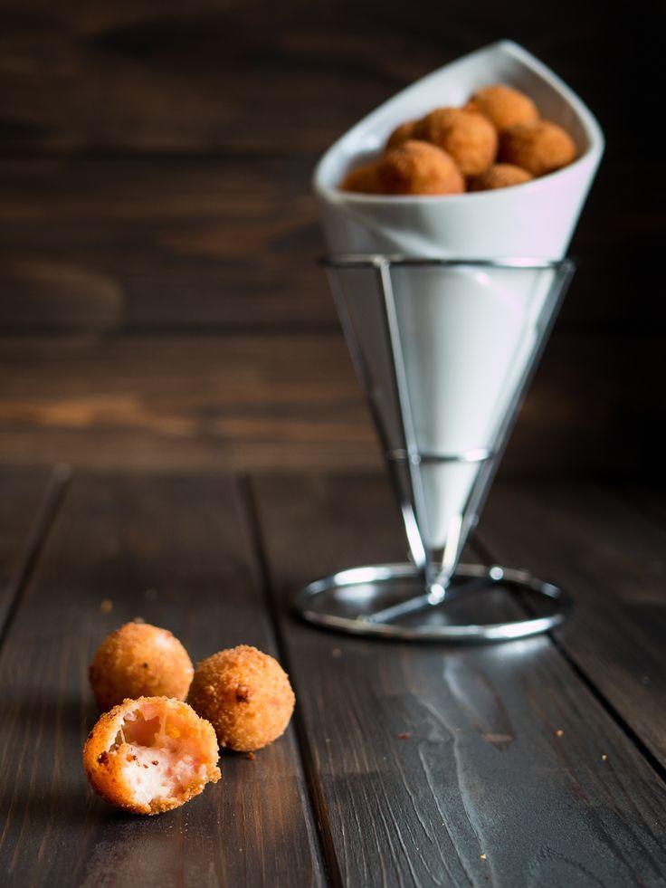 Polpettine di prosciutto e formaggio - ricetta finger food