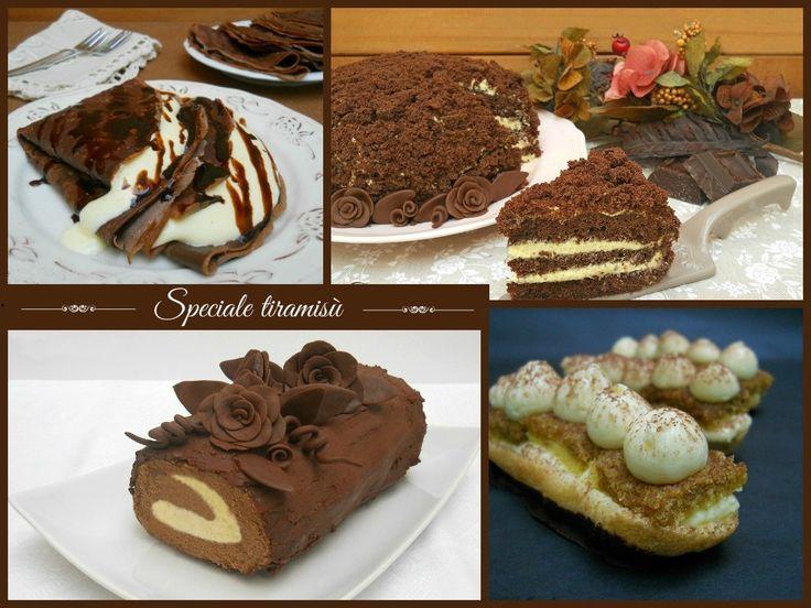 Speciale tiramisù - una raccolta di variazioni del dolce più amato.