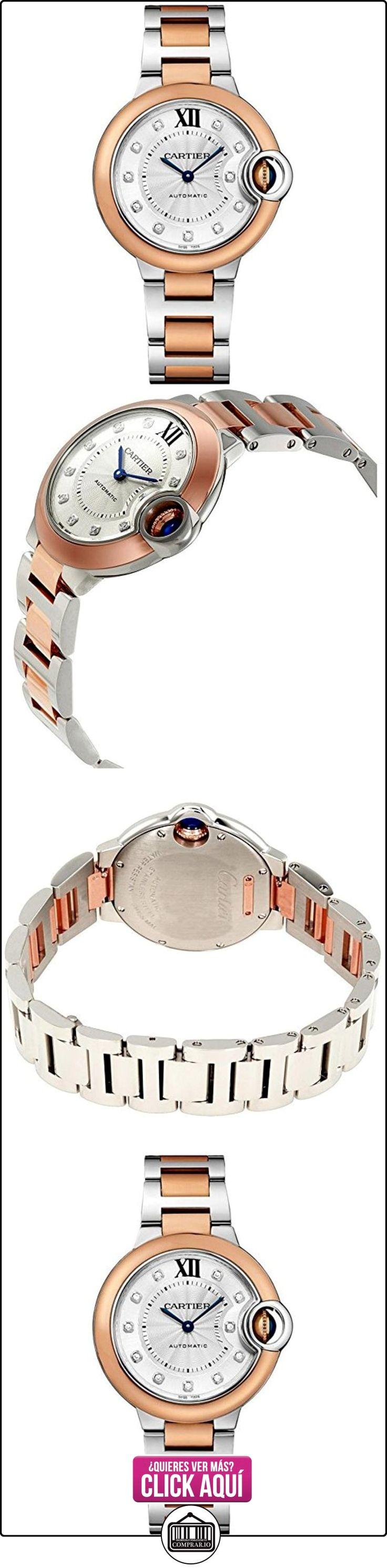 CARTIER BALLON BLEU DE CARTIER RELOJ DE MUJER AUTOMÁTICO 33MM W3BB0006  ✿ Relojes para mujer - (Lujo) ✿ ▬► Ver oferta: https://comprar.io/goto/B01LKY0UAE