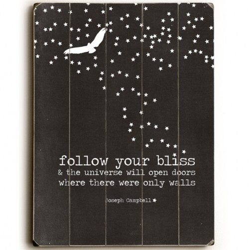 Made from pallets. And this quote is amaze.