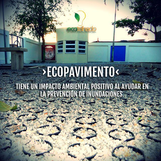 Ecopavimentos, pavimentos permeables, adoquin ecologico