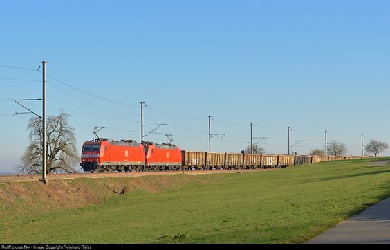 RailPictures.Net Photo: 185 135 DB Schenker DBSR 185 at Lottstetten, Germany by Reinhard Reiss