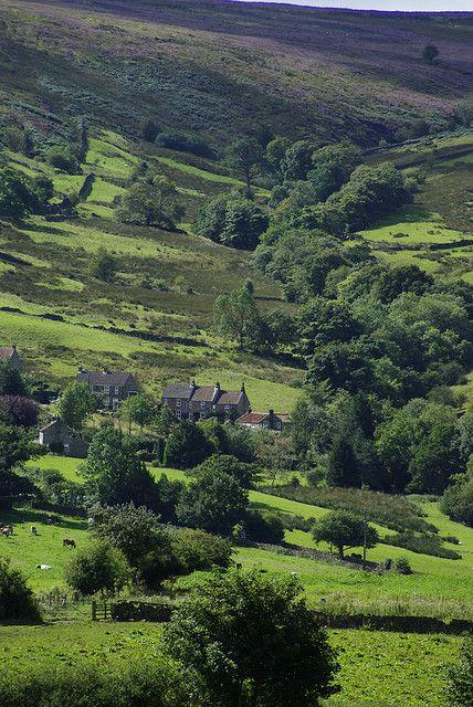 Rosedale, North York Moors, Yorkshire, England  YORKSHIRE