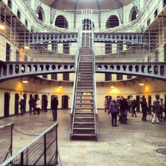 Kilmainham Gaol in Dublin....incredibly interesting tour and museum and fantastic value for money