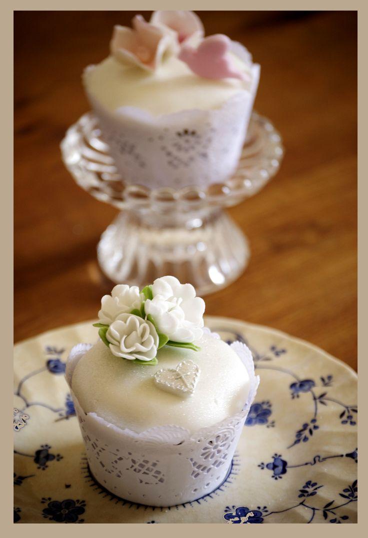Cupcake ideal para bautizo o primera comunión.